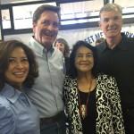 Congressman Garamendi, Dolores Huerta, and Superintendent Torlakson
