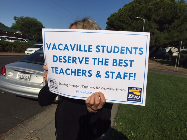 Vacaville Teachers Association – Proudly Educating